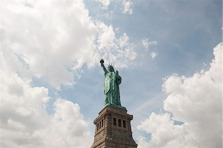 Statue of Liberty, New York City, New York, USA Stock Photo - Premium Royalty-Free, Code: 632-08227497