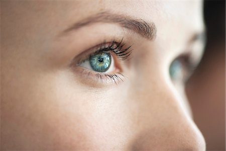 portrait looking away - Close-up of woman's eye Stock Photo - Premium Royalty-Free, Code: 632-08227861