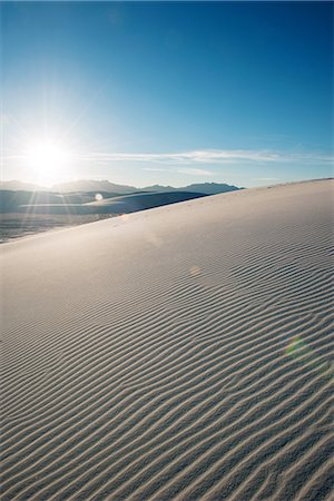 White Sands National Monument, New Mexico, USA Stock Photo - Premium Royalty-Free, Code: 632-08698401