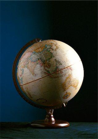 Globe Stock Photo - Premium Royalty-Free, Code: 632-01133853