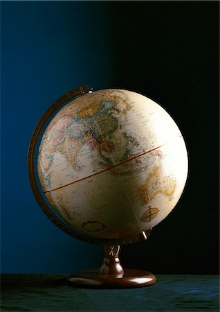 Globe Stock Photo - Premium Royalty-Free, Code: 632-01133853