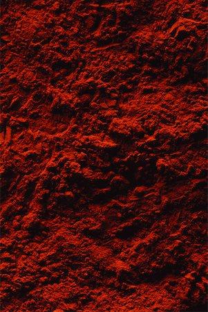 paprika - Red powder, extreme close-up, full frame Stock Photo - Premium Royalty-Free, Code: 632-01827809