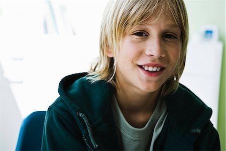 Preteen boy, portrait Stock Photo - Premium Royalty-Free, Code: 632-03083148