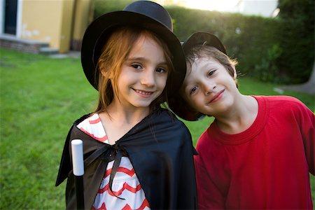 Children in costume, portrait Stock Photo - Premium Royalty-Free, Code: 632-03500981