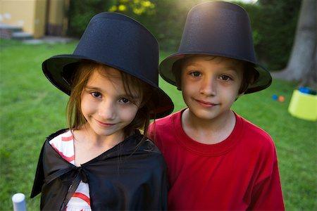 Children in costume, portrait Stock Photo - Premium Royalty-Free, Code: 632-03501004