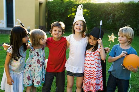 Children together for party, group photo Stock Photo - Premium Royalty-Free, Code: 632-03501003
