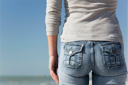 Woman's back side, close-up Stock Photo - Premium Royalty-Free, Code: 632-03652049