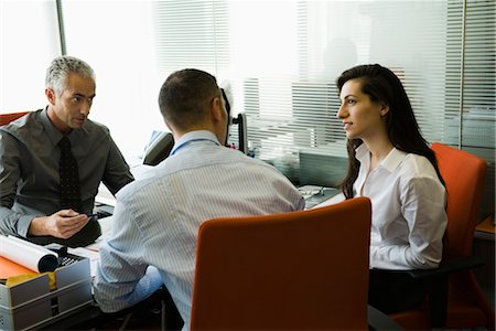 Businessman meeting with clients Stock Photo - Premium Royalty-Free, Code: 632-03848040