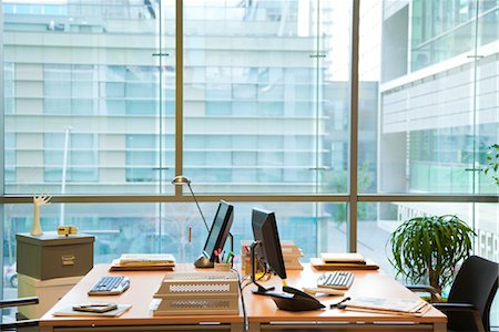 Empty office Stock Photo - Premium Royalty-Free, Code: 632-03897989