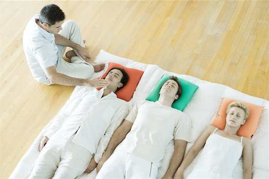 Group energy therapy Stock Photo - Premium Royalty-Free, Image code: 633-01574672