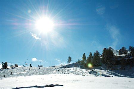 Switzerland, ski slope Stock Photo - Premium Royalty-Free, Code: 633-01572989