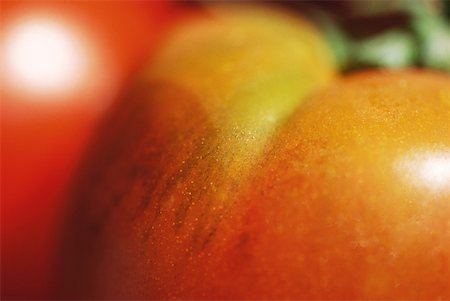 spot (dirt mark) - Tomatoes, extreme close-up Stock Photo - Premium Royalty-Free, Code: 633-01715351