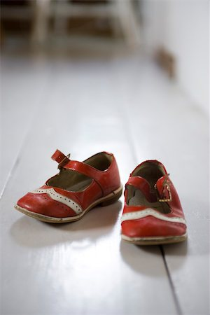 Child's shoes Stock Photo - Premium Royalty-Free, Code: 633-03444609