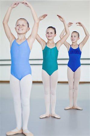 preteen dancing - Ballet dancers posing in studio Stock Photo - Premium Royalty-Free, Code: 649-04248006