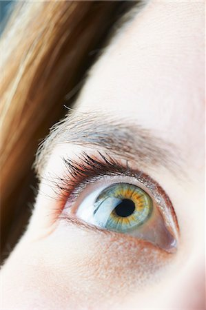 Close up of womans eye Stock Photo - Premium Royalty-Free, Code: 649-06000754