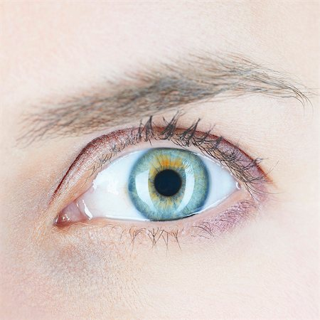 Close up of womans eye Stock Photo - Premium Royalty-Free, Code: 649-06000753