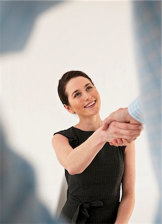 Business people shaking hands Stock Photo - Premium Royalty-Free, Code: 649-06001903