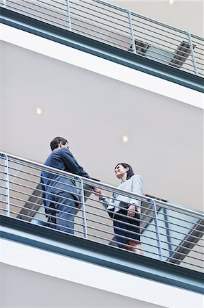passion - Business people talking on balcony Stock Photo - Premium Royalty-Free, Code: 649-06040208
