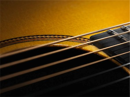 Close up of guitar string Stock Photo - Premium Royalty-Free, Code: 649-06041356