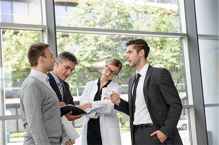 sale - Doctor and businessmen talking Stock Photo - Premium Royalty-Free, Code: 649-06532624