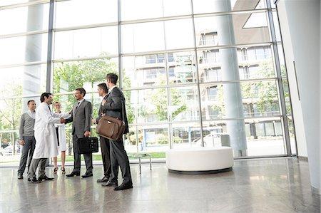 partnership - Doctors and businessmen meeting Stock Photo - Premium Royalty-Free, Code: 649-06532622