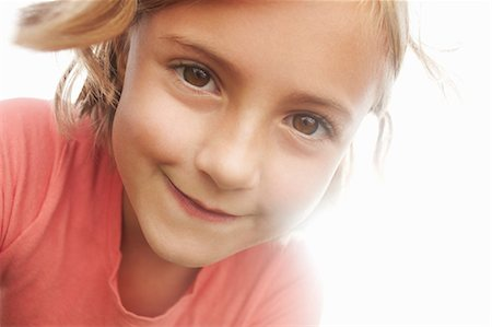 Close up of girls smiling face Stock Photo - Premium Royalty-Free, Code: 649-06533115