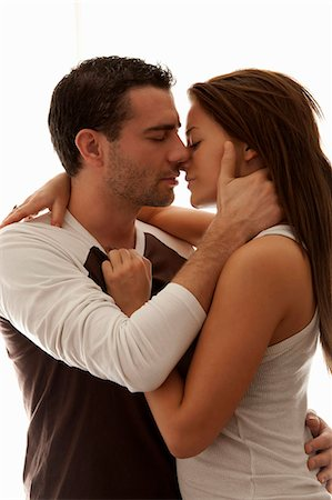 passion - Kissing couple hugging Stock Photo - Premium Royalty-Free, Code: 649-06622022