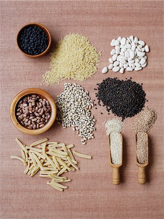 Dried pulses and grains Stock Photo - Premium Royalty-Free, Code: 649-06812124