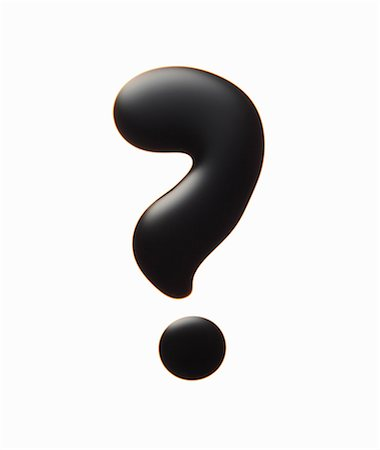 Oil in the shape of question mark Stock Photo - Premium Royalty-Free, Code: 649-06812487