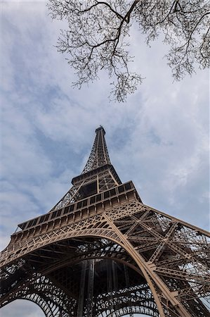 Eiffel Tower, Paris, France Stock Photo - Premium Royalty-Free, Code: 649-06829942