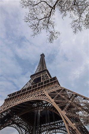Eiffel Tower, Paris, France Stock Photo - Premium Royalty-Free, Code: 649-06829942