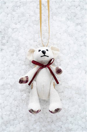 Teddy bear christmas decoration Stock Photo - Premium Royalty-Free, Code: 649-06830062