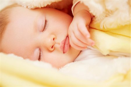 Baby in peaceful slumber Stock Photo - Premium Royalty-Free, Code: 649-07064502