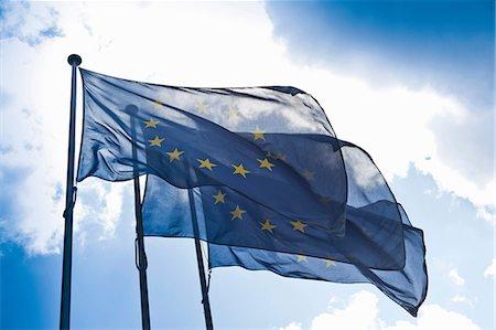 europe - European community flags Stock Photo - Premium Royalty-Free, Code: 649-07063498