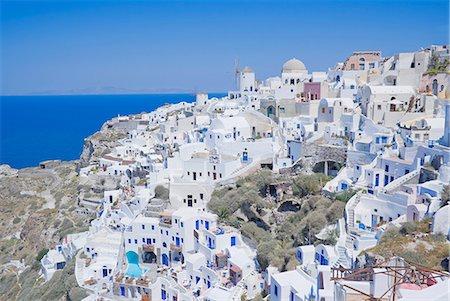 santorini - Oia village, Santorini, Greece Stock Photo - Premium Royalty-Free, Code: 649-07118317