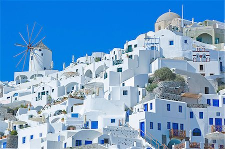 Oia village, Santorini, Greece Stock Photo - Premium Royalty-Free, Code: 649-07118320