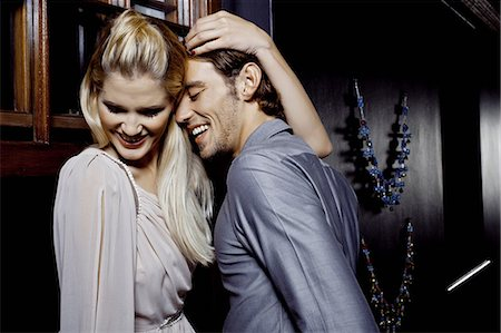Young couple flirting in nightclub Stock Photo - Premium Royalty-Free, Code: 649-07118910