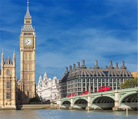 Big Ben and Houses of Parliament, London, UK Fotografie stock - Premium Royalty-Free, Codice: 649-07119071