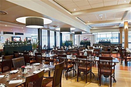 rectangle - Modern restaurant in hotel Stock Photo - Premium Royalty-Free, Code: 649-07119324