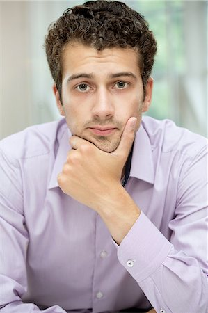 Portrait of young man Stock Photo - Premium Royalty-Free, Code: 649-07238912
