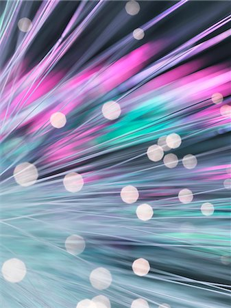 fibre optic - Bundle of fibre optics used to send data Stock Photo - Premium Royalty-Free, Code: 649-07279549