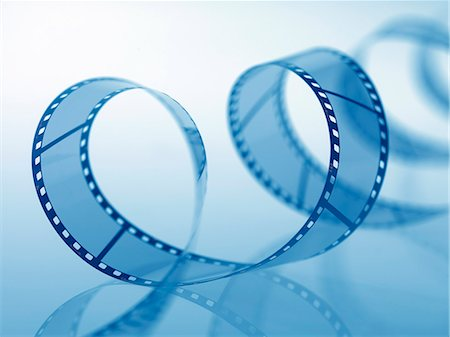 Film Unspooling Stock Photo - Premium Royalty-Free, Code: 649-07279700