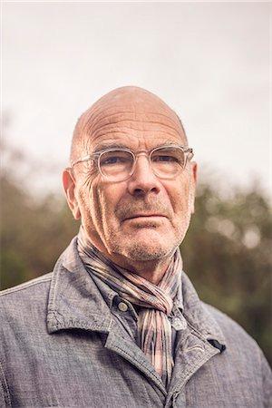 Portrait of senior man Stock Photo - Premium Royalty-Free, Code: 649-07279999