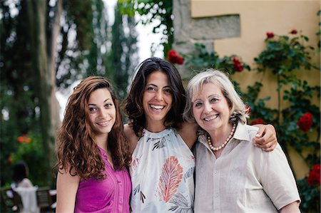 Three generations of female family together Stock Photo - Premium Royalty-Free, Code: 649-07437675