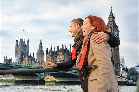 Romantic mature couple sightseeing, London, UK Stock Photo - Premium Royalty-Free, Code: 649-07560247