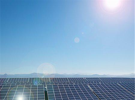 solar power - Solar farm, Andalusia, Spain Stock Photo - Premium Royalty-Free, Code: 649-07905453
