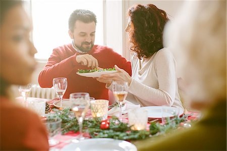 Family Christmas party Stock Photo - Premium Royalty-Free, Code: 649-08086568