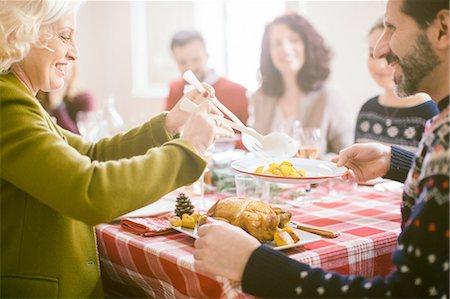 Family Christmas party Stock Photo - Premium Royalty-Free, Code: 649-08086572