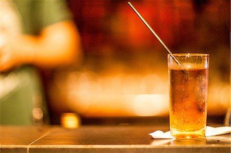 Cocktail drink on cocktail bar, Rio De Janeiro, Brazil Stock Photo - Premium Royalty-Free, Code: 649-08118542