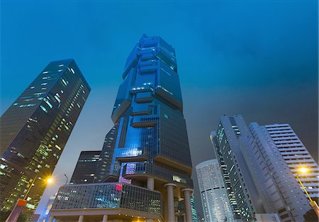 Central Hong Kong financial district, Hong Kong, China Stock Photo - Premium Royalty-Free, Code: 649-08145398